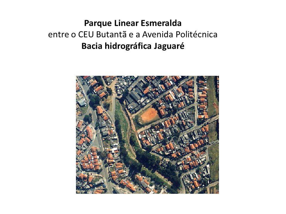 Parque Linear Esmeralda Bacia hidrográfica Jaguaré