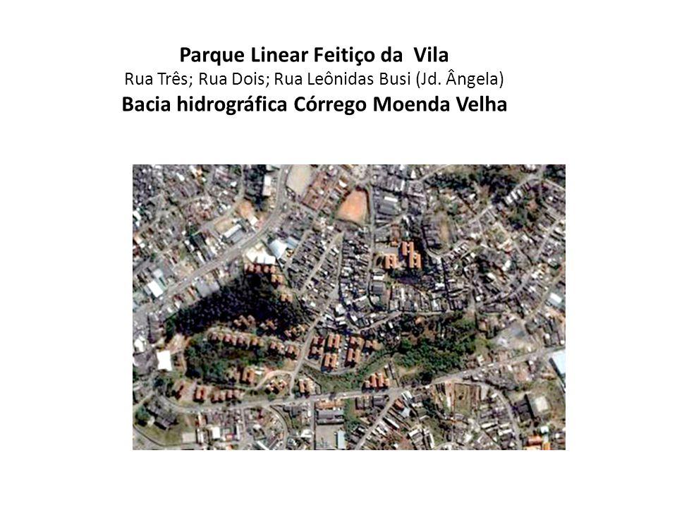 Parque Linear Feitiço da Vila Bacia hidrográfica Córrego Moenda Velha