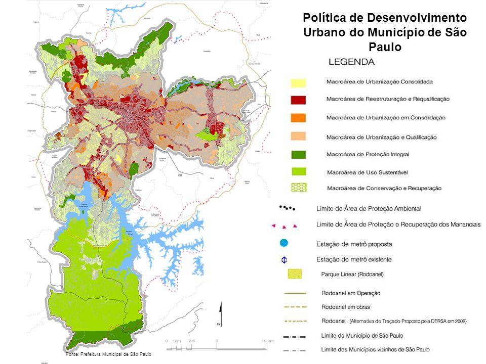 Política de Desenvolvimento Urbano do Município de São Paulo
