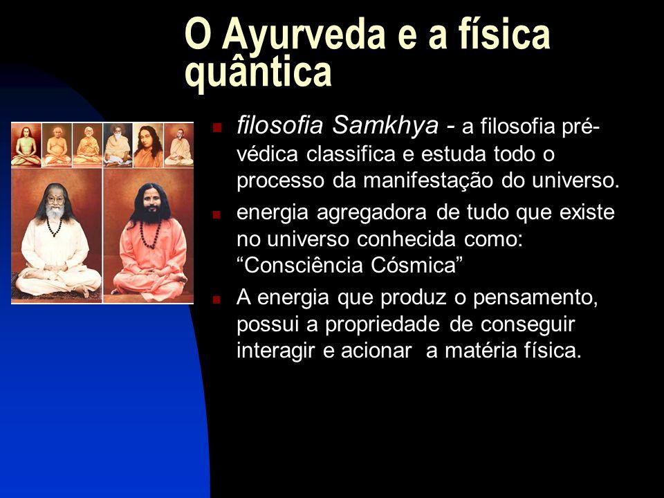 O Ayurveda e a física quântica