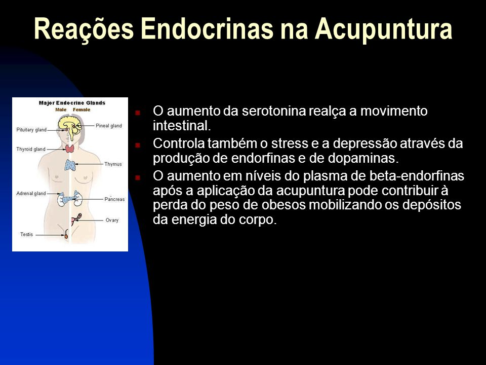 Reações Endocrinas na Acupuntura