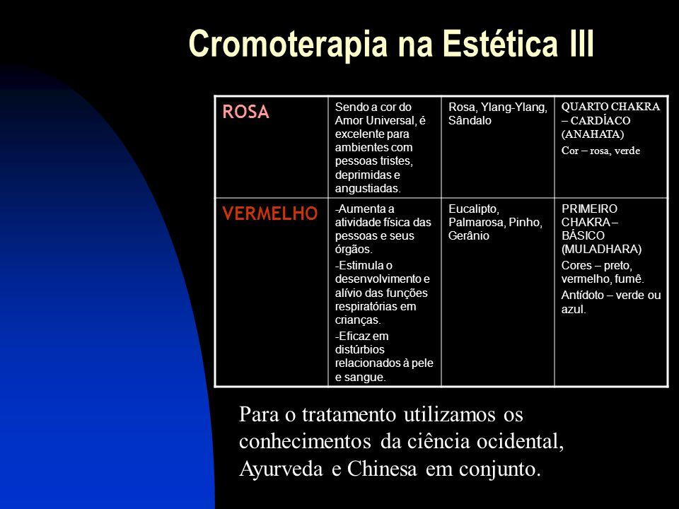 Cromoterapia na Estética III