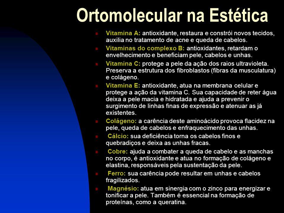 Ortomolecular na Estética