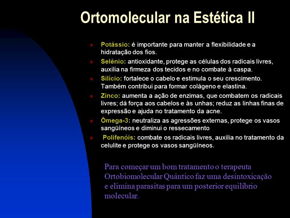 Ortomolecular na Estética II