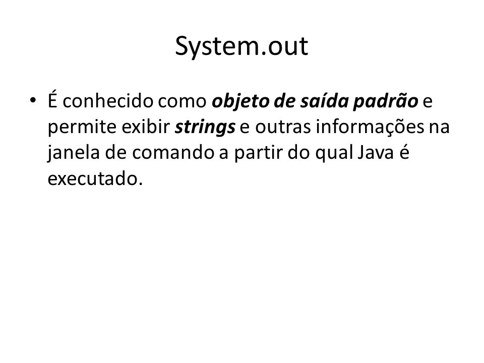 System.out