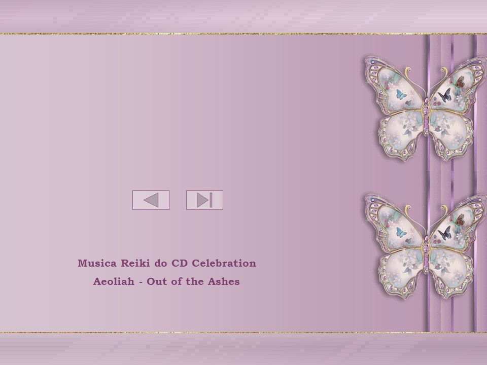 Musica Reiki do CD Celebration Aeoliah - Out of the Ashes