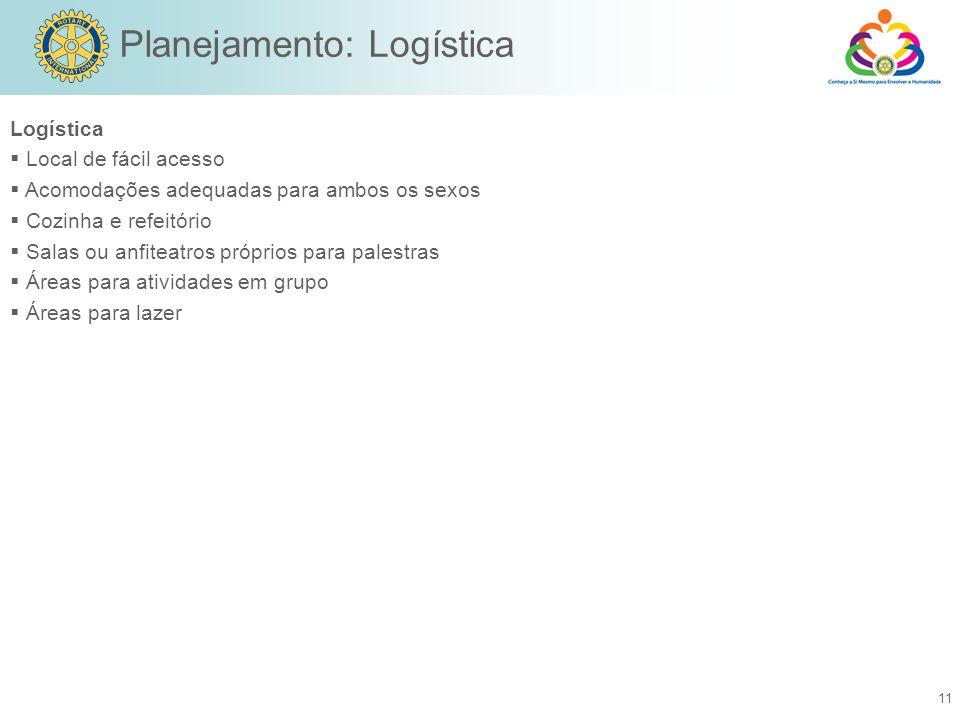 Planejamento: Logística