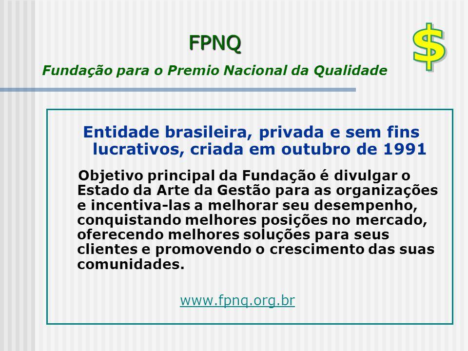 FPNQ Fundação para o Premio Nacional da Qualidade