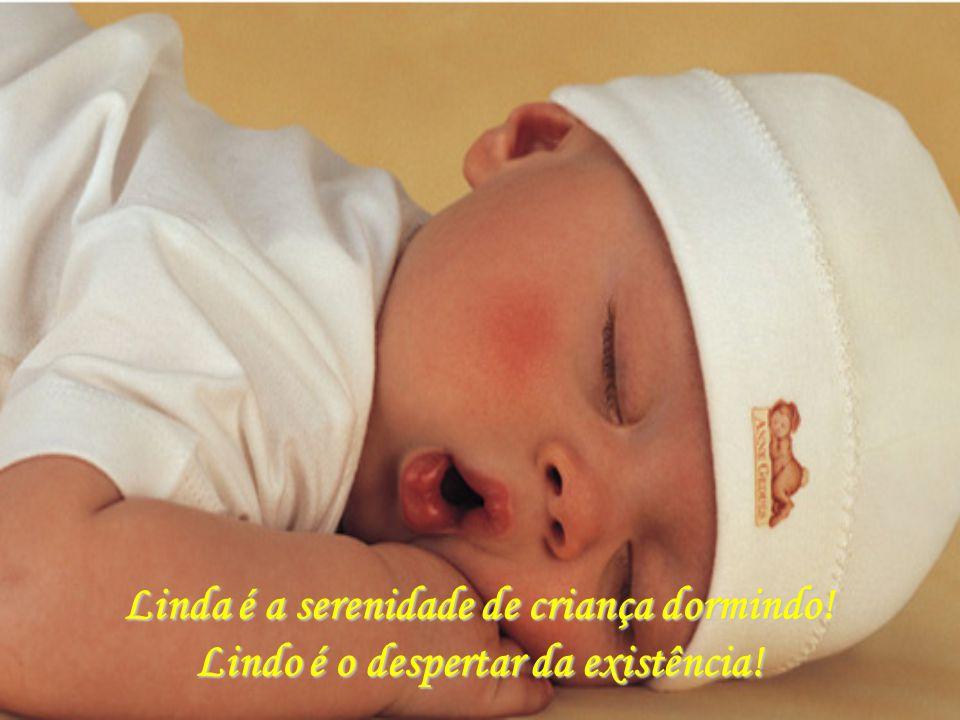 Linda é a serenidade de criança dormindo!