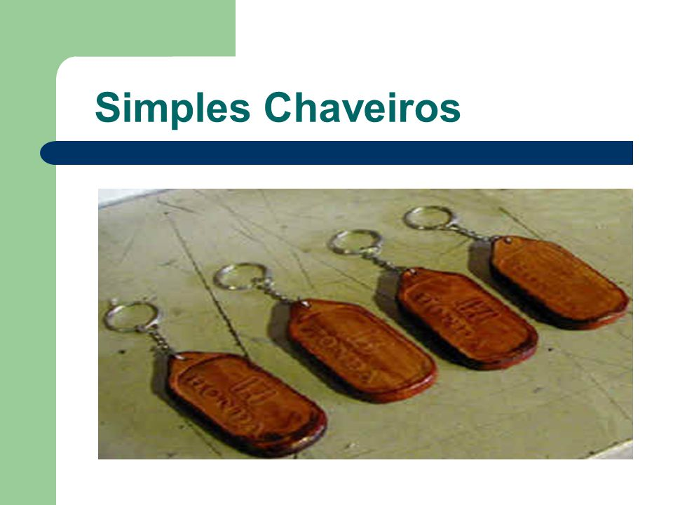 Simples Chaveiros
