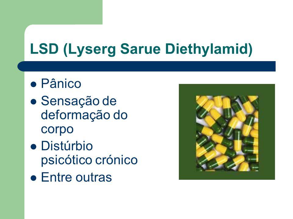 LSD (Lyserg Sarue Diethylamid)