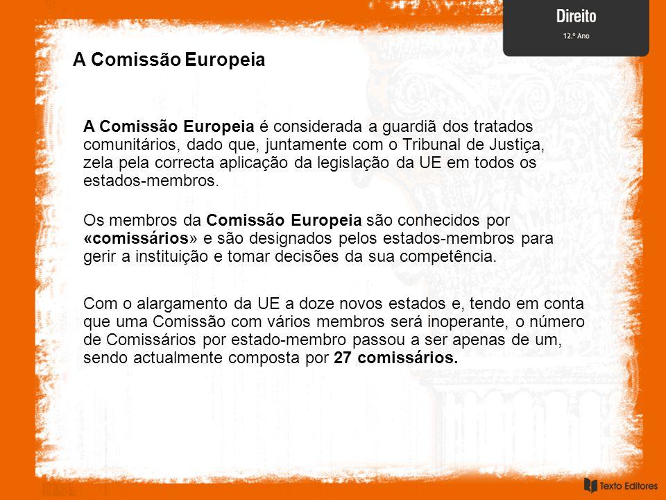 A Comissão Europeia