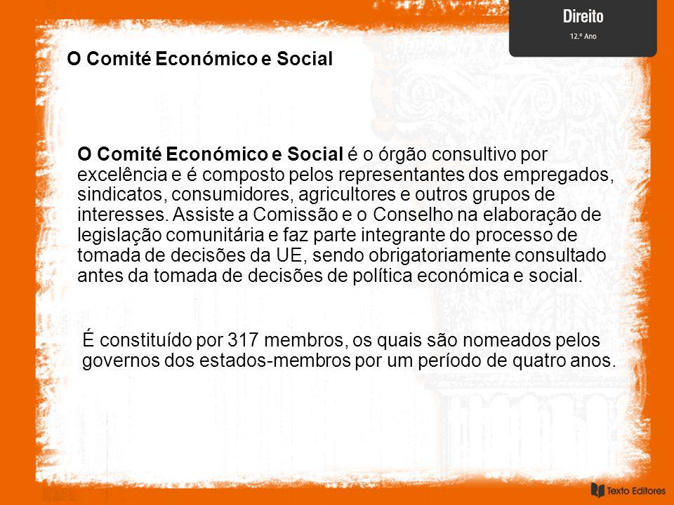 O Comité Económico e Social