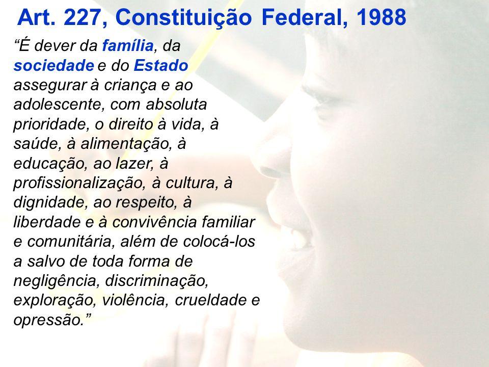Art. 227, Constituição Federal, 1988
