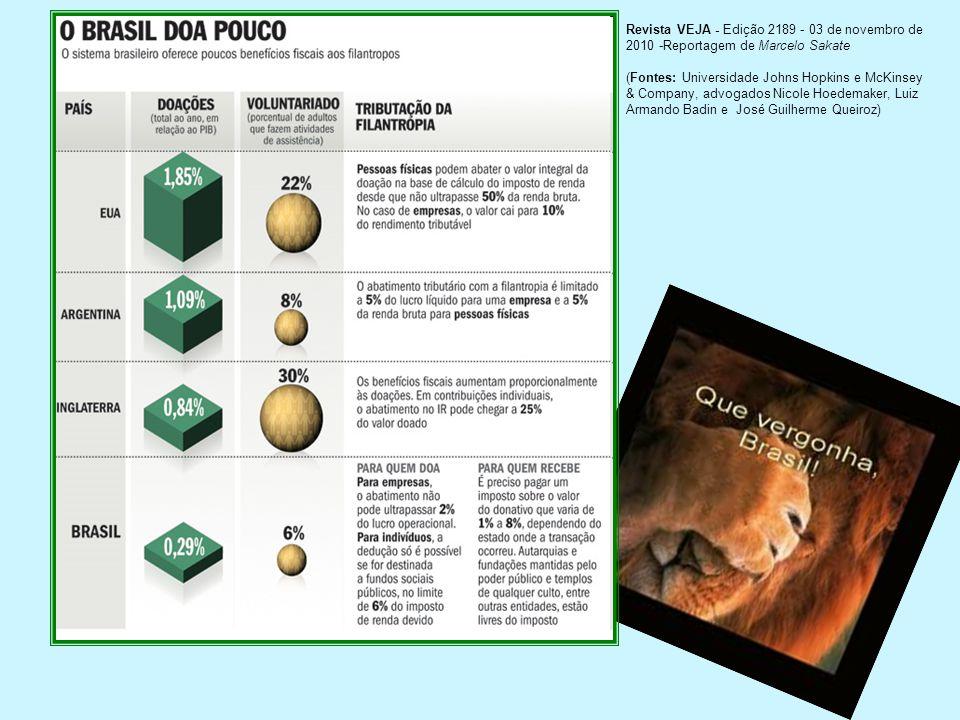 Revista VEJA - Edição 2189 - 03 de novembro de 2010 -Reportagem de Marcelo Sakate
