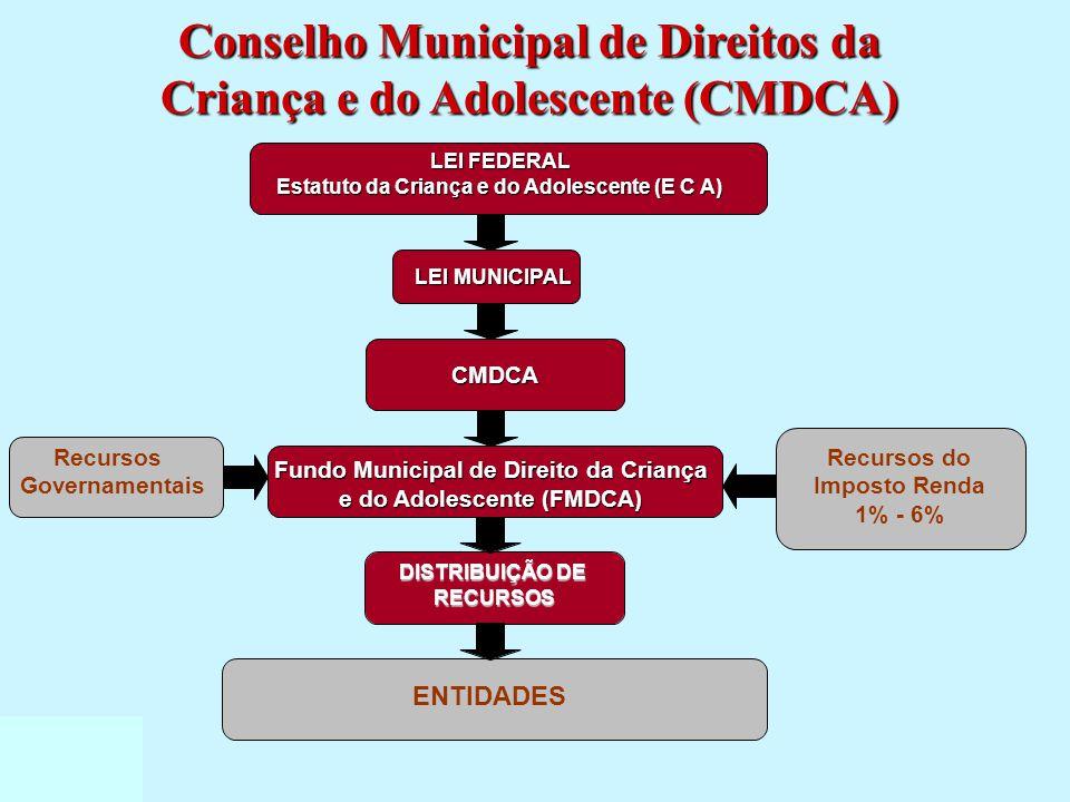 Conselho Municipal de Direitos da Criança e do Adolescente (CMDCA)