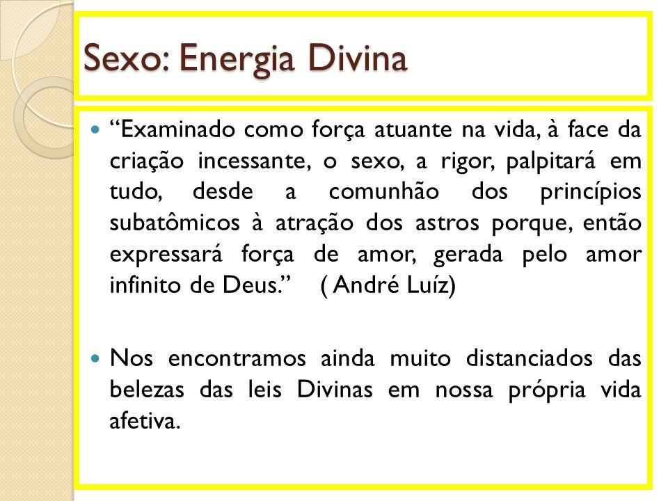 Sexo: Energia Divina