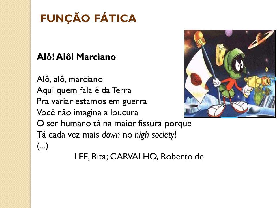 LEE, Rita; CARVALHO, Roberto de.