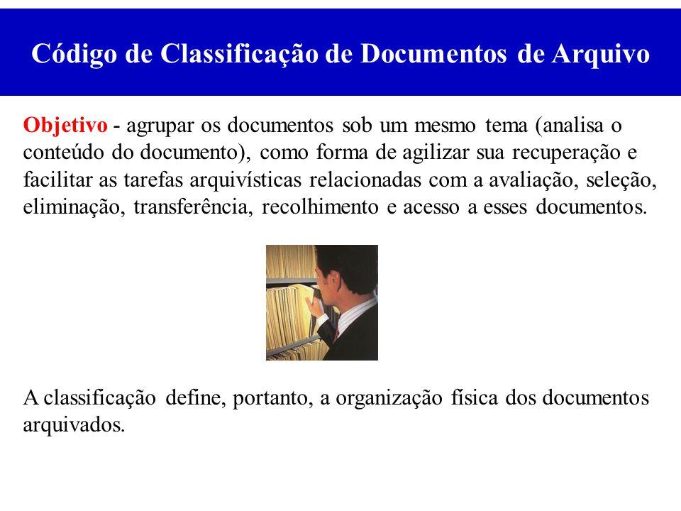 Código de Classificação de Documentos de Arquivo