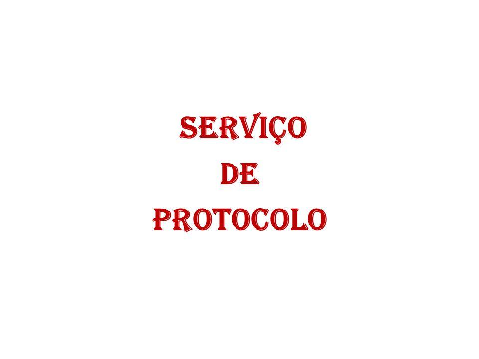 SERVIÇO DE PROTOCOLO