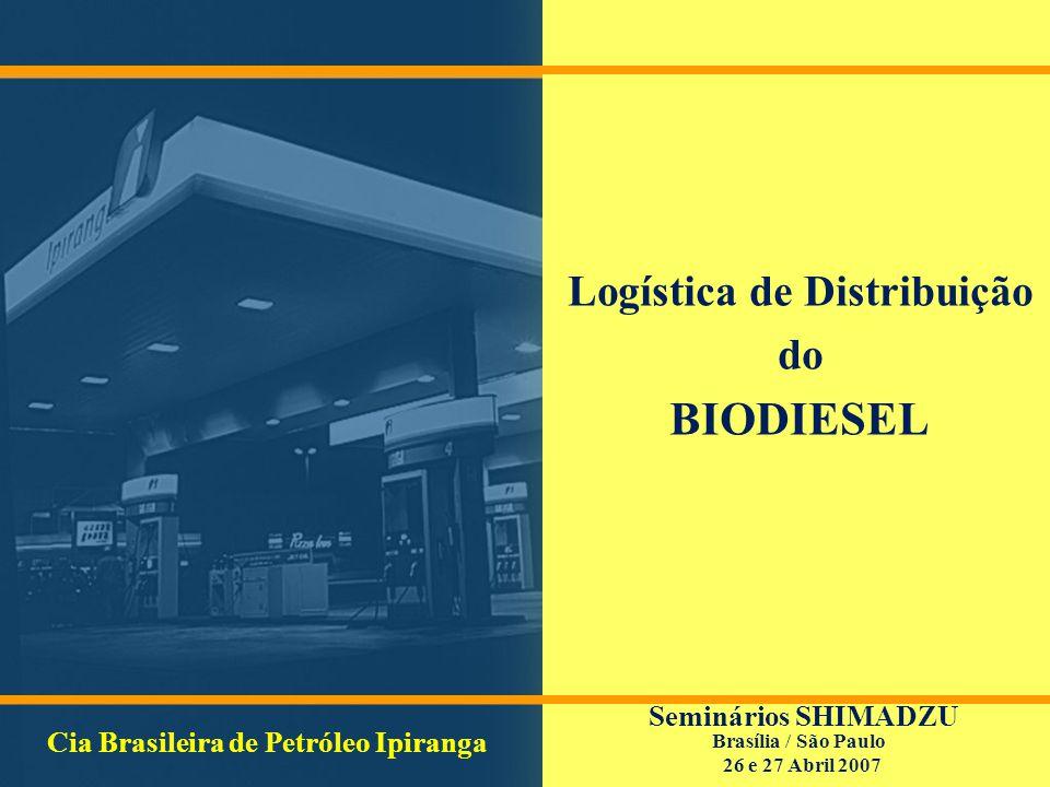 Logística de Distribuição do BIODIESEL