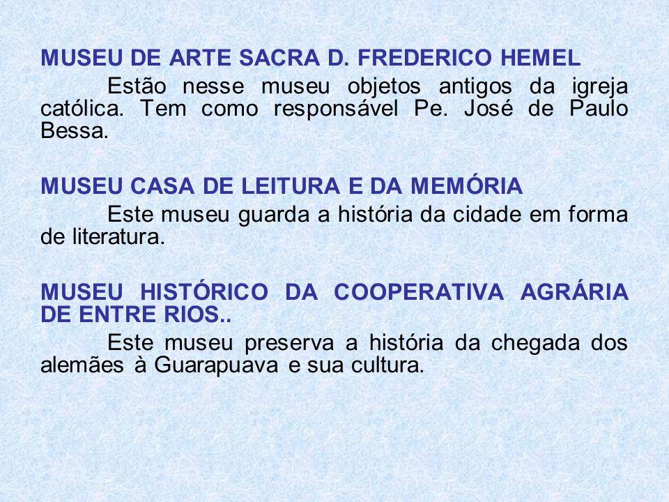 MUSEU DE ARTE SACRA D. FREDERICO HEMEL