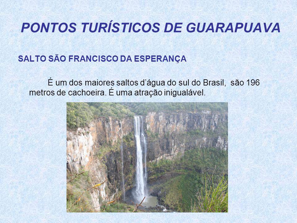 PONTOS TURÍSTICOS DE GUARAPUAVA