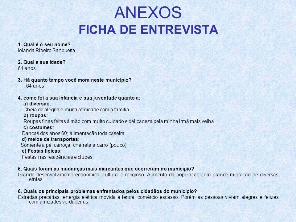 ANEXOS FICHA DE ENTREVISTA