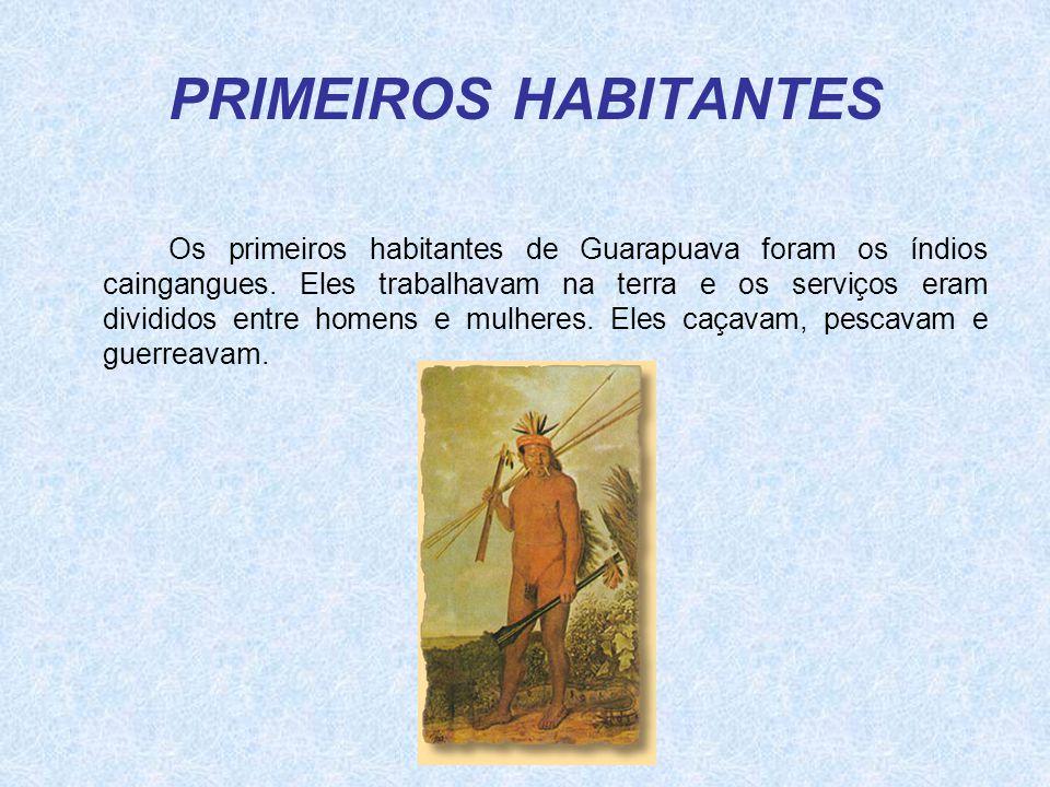 PRIMEIROS HABITANTES