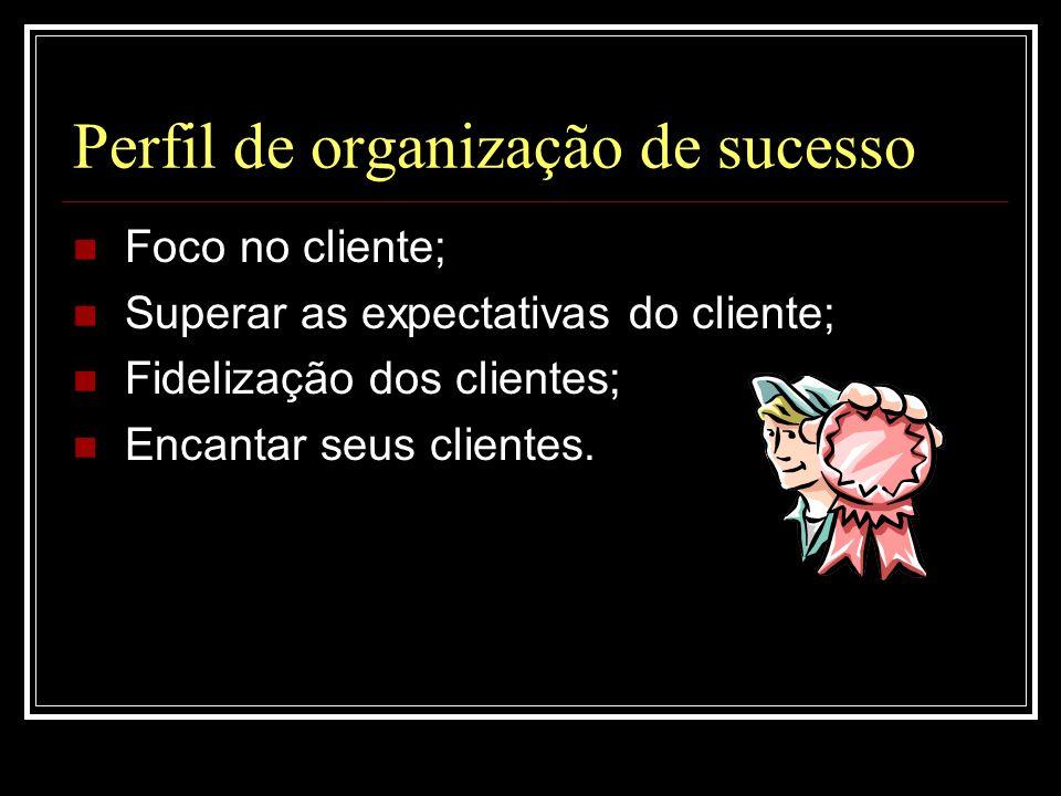 Perfil de organização de sucesso