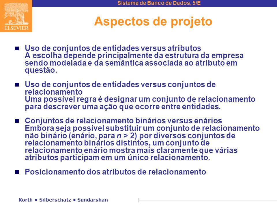 Aspectos de projeto