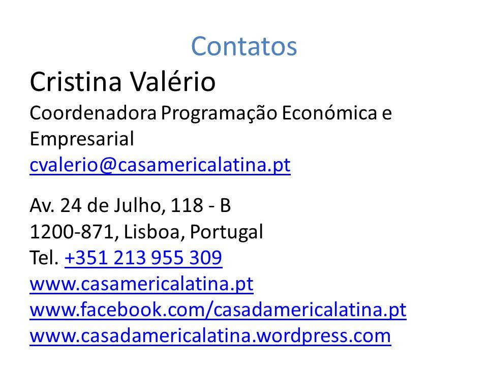 Cristina Valério Contatos