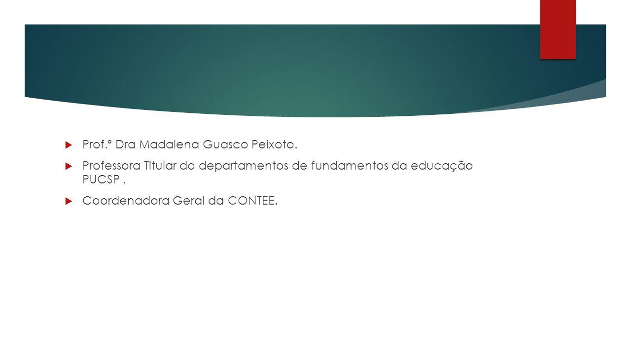 Prof.ª Dra Madalena Guasco Peixoto.
