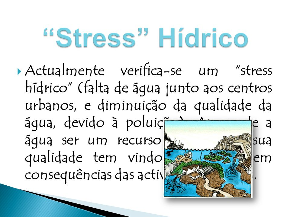 Stress Hídrico