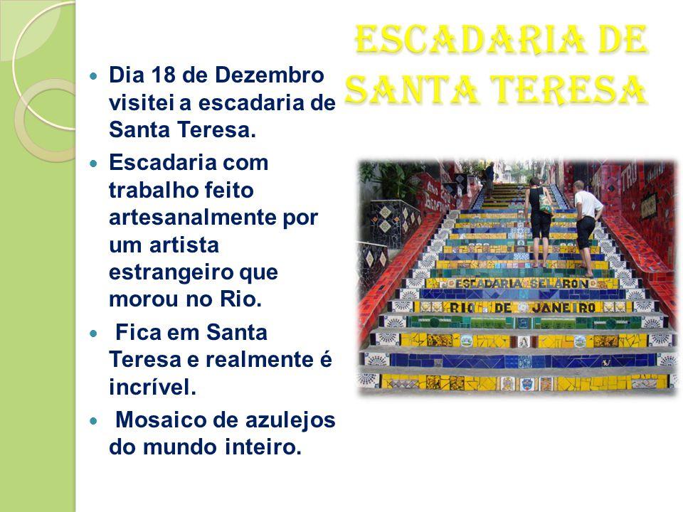 Escadaria de Santa Teresa