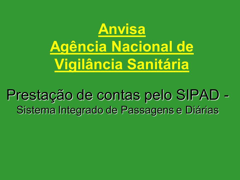 Anvisa Agência Nacional de Vigilância Sanitária