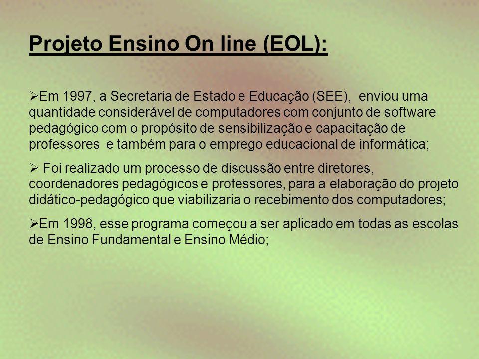 Projeto Ensino On line (EOL):