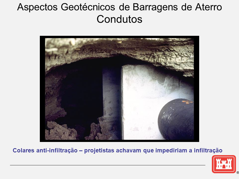 Aspectos Geotécnicos de Barragens de Aterro Condutos