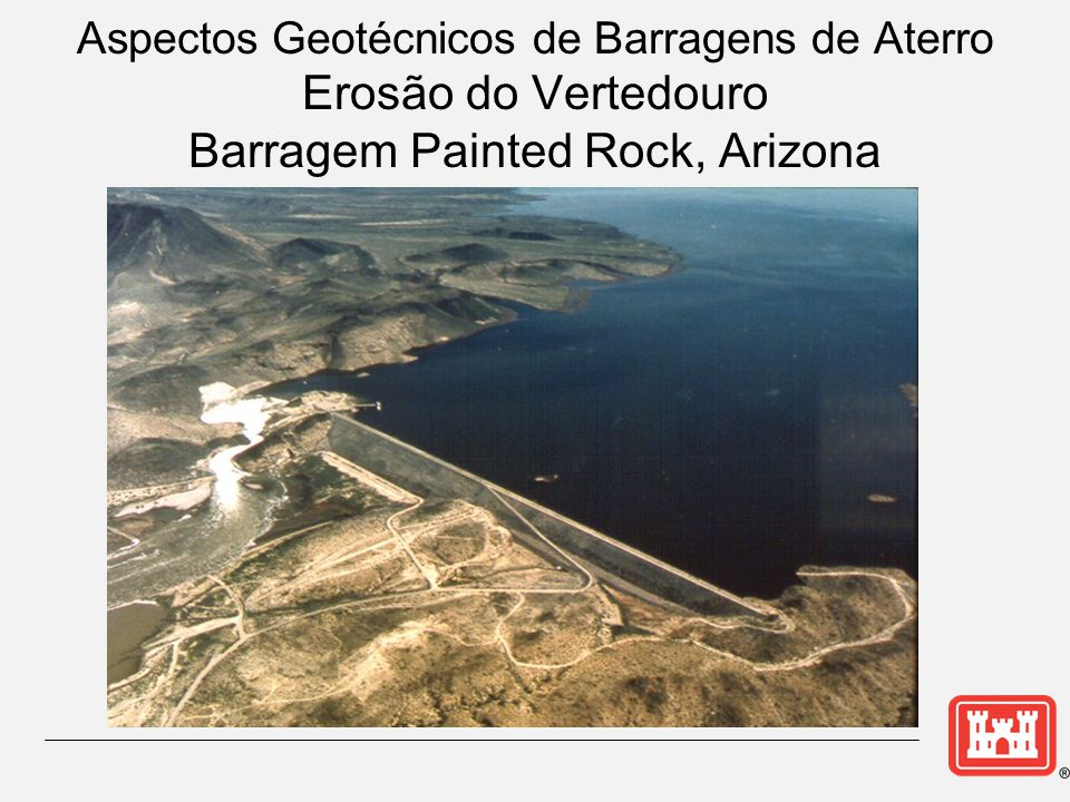 Barragem Painted Rock, Arizona