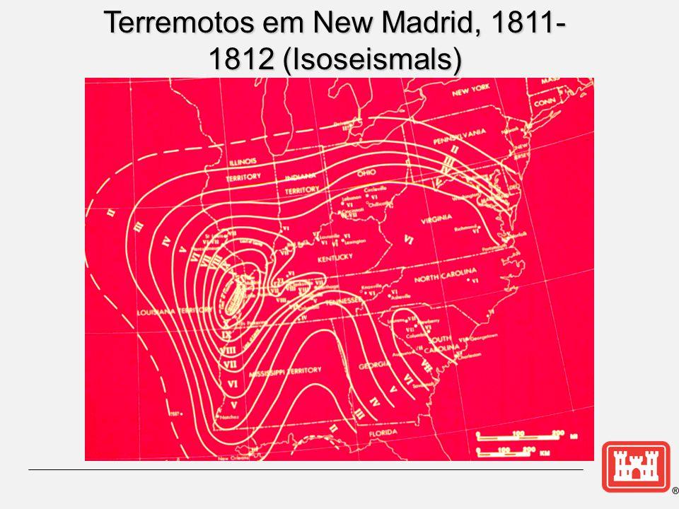 Terremotos em New Madrid, 1811-1812 (Isoseismals)