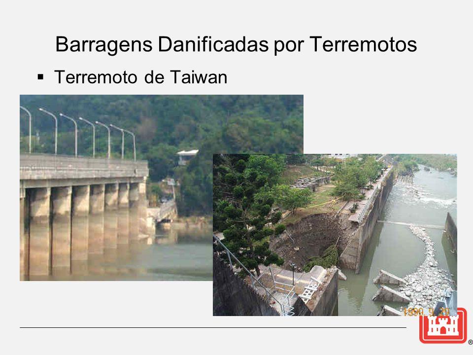 Barragens Danificadas por Terremotos