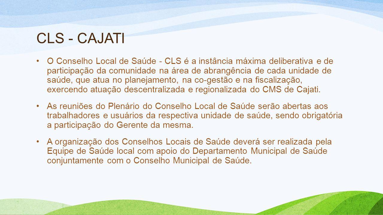 CLS - CAJATI