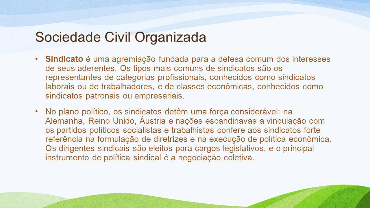 Sociedade Civil Organizada
