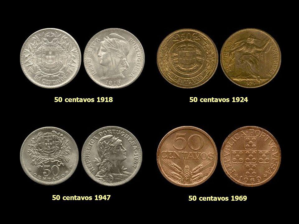 50 centavos 1918 50 centavos 1924 50 centavos 1947 50 centavos 1969
