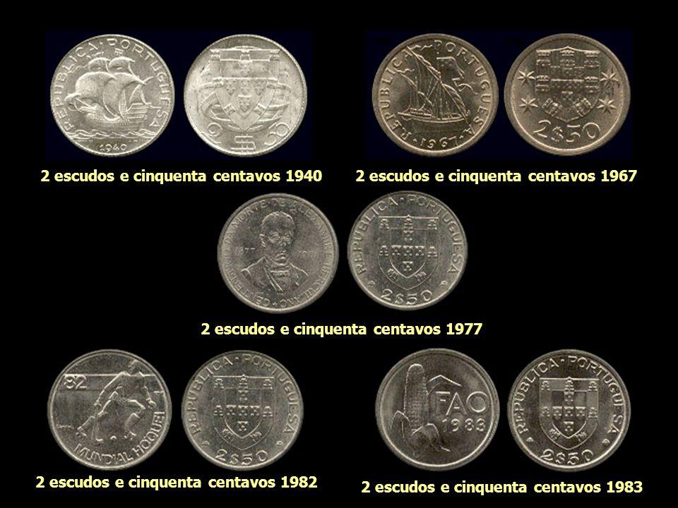 2 escudos e cinquenta centavos 1940