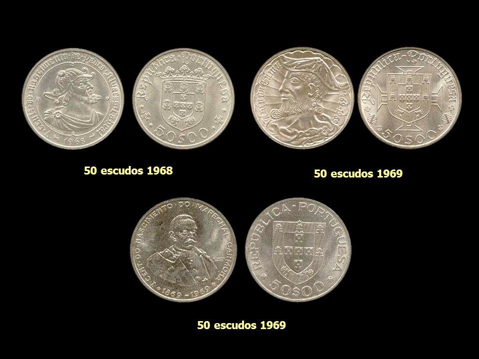 50 escudos 1968 50 escudos 1969 50 escudos 1969