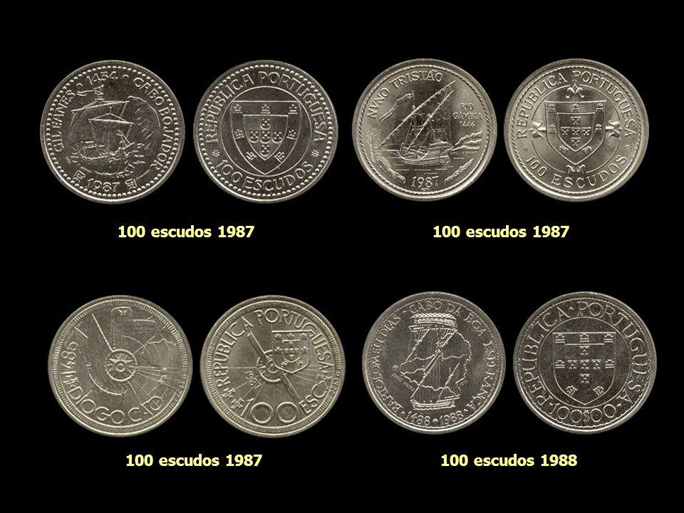 100 escudos 1987 100 escudos 1987 100 escudos 1987 100 escudos 1988