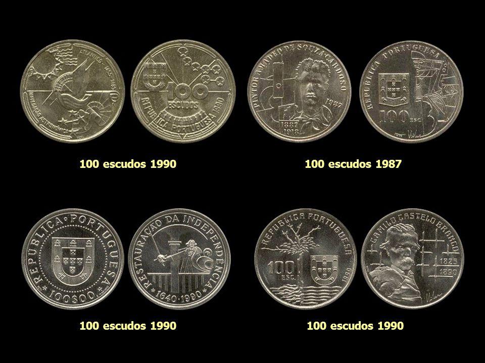 100 escudos 1990 100 escudos 1987 100 escudos 1990 100 escudos 1990