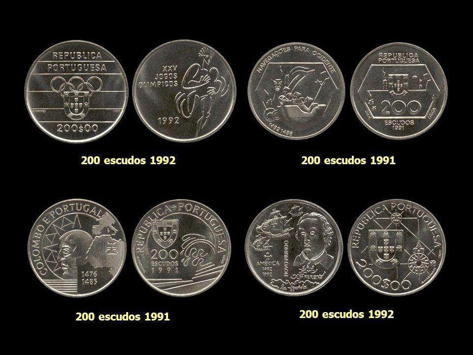 200 escudos 1992 200 escudos 1991 200 escudos 1991 200 escudos 1992