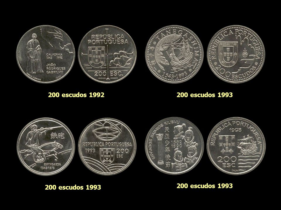 200 escudos 1992 200 escudos 1993 200 escudos 1993 200 escudos 1993